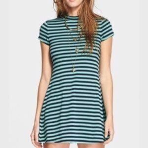 Free People Beach On The Line Ponte Striped Dress